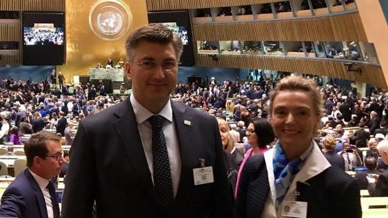 Proslava 25 godina hrvatskog članstva u UN-u s američkim Hrvatima