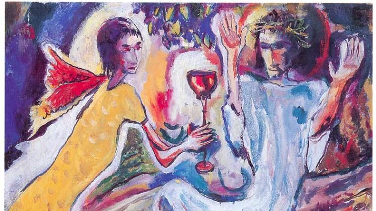 Isus u Getsemanskom vrtu (Foto: hmnu.hr)