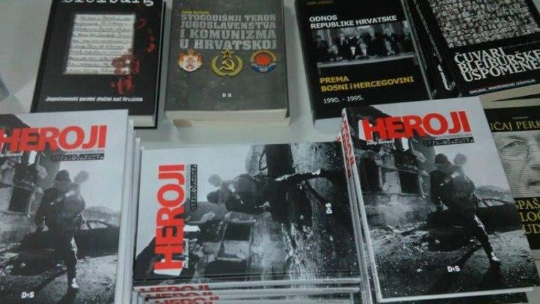 Nagrada za najbolju knjigu na temu Domovinskog rata i stvaranja slobodne, neovisne hrvatske države (Foto: Heroji/HRT screenshot)