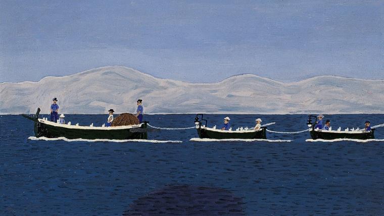"""""""Ribarski konvoj"""" iz 1955. (Foto: hmnu.hr)"""