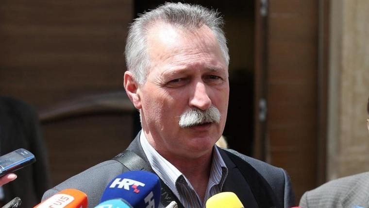 Branimir Mihalinec del sindicato de servicios públicos. (Foto: Jurica Galoic/PIXSELL)