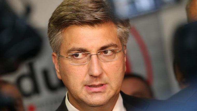Primer ministro Andrej Plenković (Foto: Ivan Cagalj Pixsell)