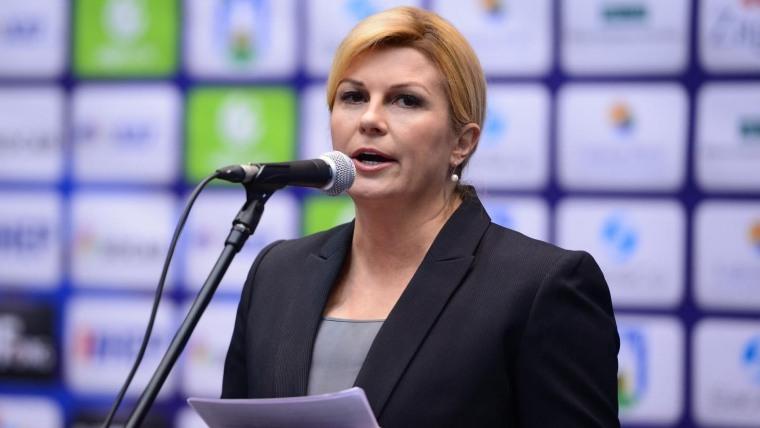 Presidenta de la República Kolinda Grabar Kitarović (Foto: Marko Prpic Pixsell)