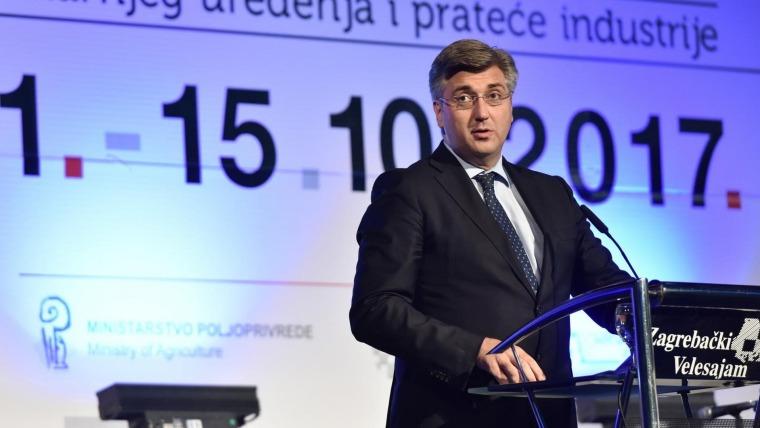 Primer ministro Andrej Plenković (Foto: Davor Visnjic/PIXSELL)