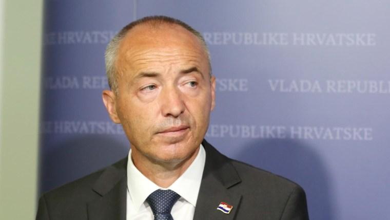 Der kroatische Verteidigungsminister Damir Krstičević (Foto: Dusko Jaramaz/PIXSELL)