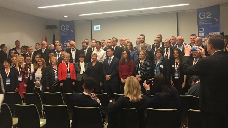 Presidenta de la República en el Meeting G2 - Foto Kristina Ivandić
