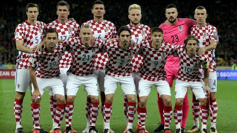 Kroatische Fussballnationalmannschaft Foto Igor Kralj_pixsell
