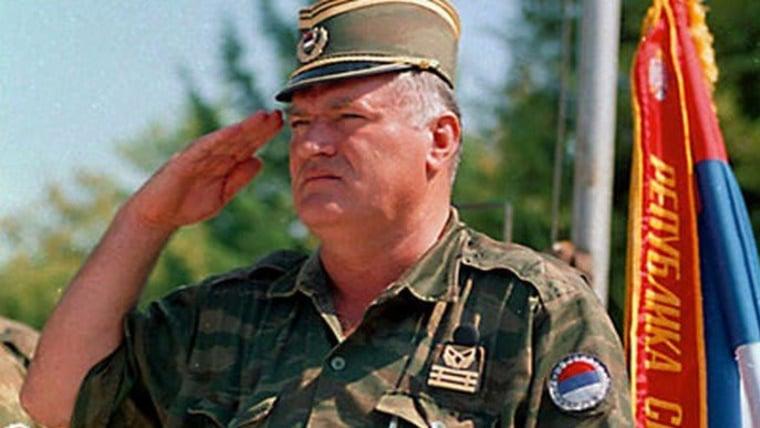 Ratko Mladić (Foto: HRT)