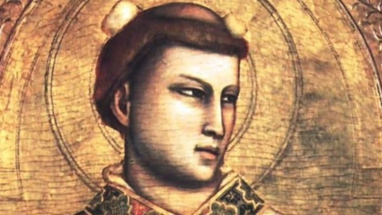 A painting of St. Stephen the first martyr. (Photo: HRT)
