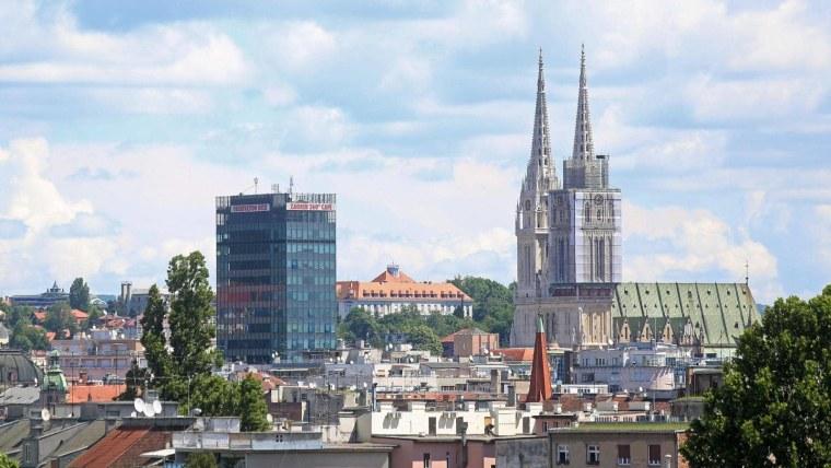 Die kroatische Hauptstadt Zagreb (Foto.Borna Filić/PIXSELL)