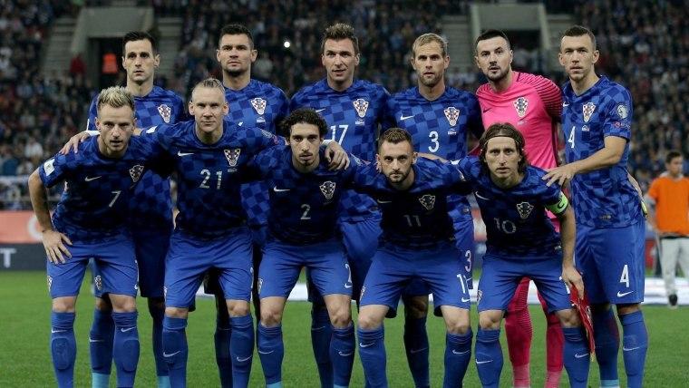 Kroatische Fussballnationalmannschaft Fotoigor Kralj_pixsell