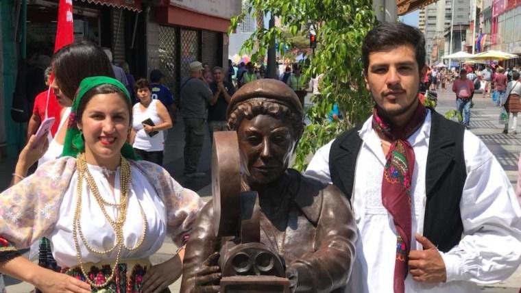 Reconocimiento a croatas destacados de Antofagasta (Foto: Sociedad Croata de SS MM de Antofagasta)