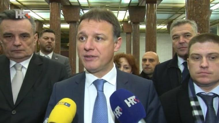 Gordan Jandroković, Parlamentspräsident (Foto: HRT)