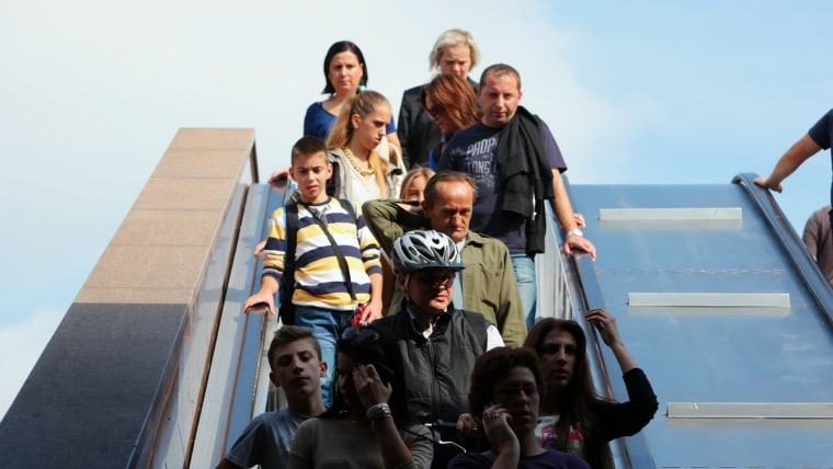 Escalator (Photo: Tomislav Miletic/PIXSELL)