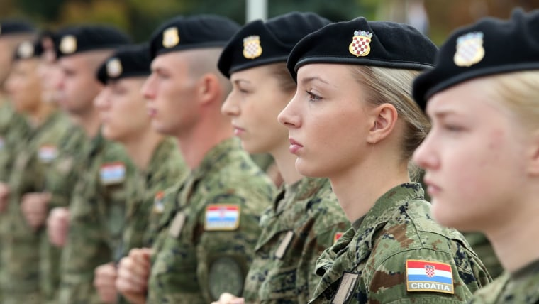 Croatian army (Photo: Robert Anic/PIXSELL)