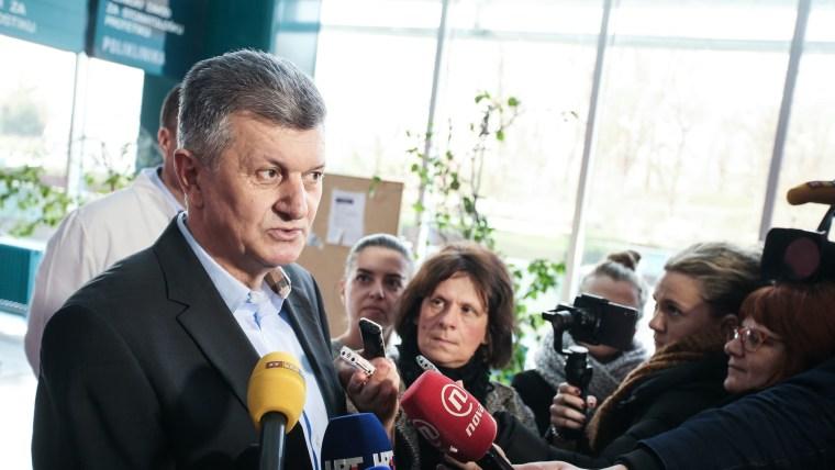 Health Minister Milan Kujundžić (Photo: Petar Glebov/PIXSELL)