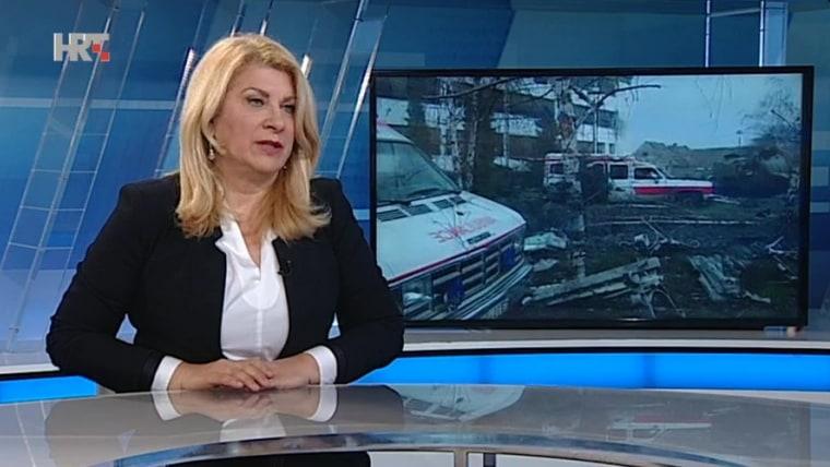 Vesna Škare Ožbolt (Screenshot: HRT)
