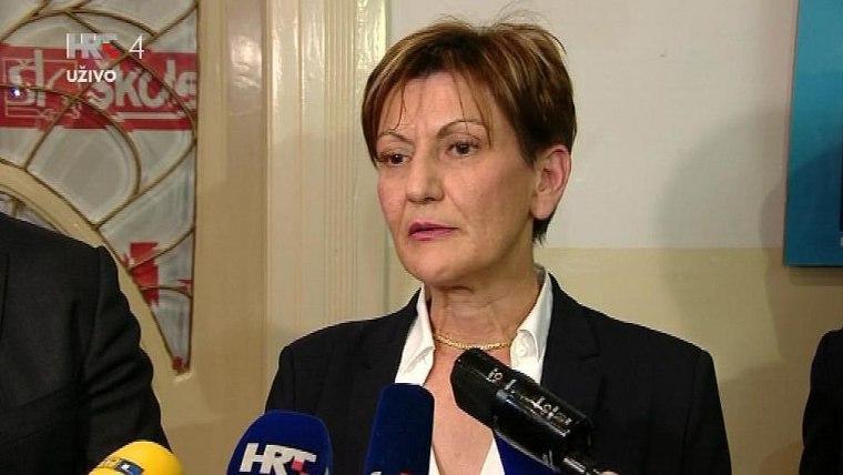 Wirtschaftsministerin Martina Dalić (Foto: HRT)