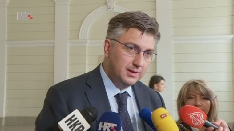 Primer ministro Andrej Plenković (Foto:HRT)