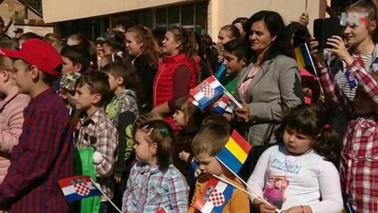 Karaševo children (Photo HRT)
