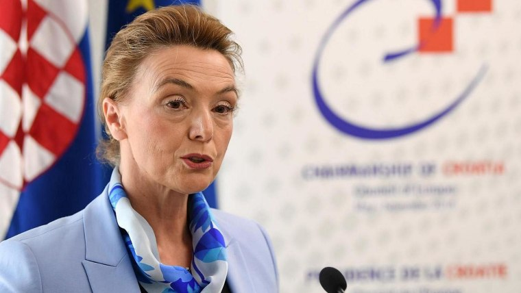 Minister Marija Pejčinović Burić (Photo: Marko Lukunic/PIXSELL)