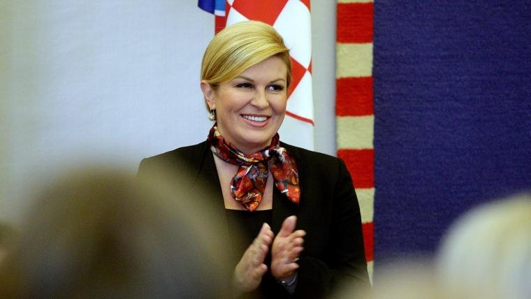 Staatspräsidentin Kolinda Grabar Kitarović (Foto: Zarko Bašić/PIXSELL)