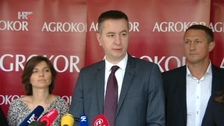 Agrokor Emergency Commissioner Fabris Peruško. (Photo: HRT)