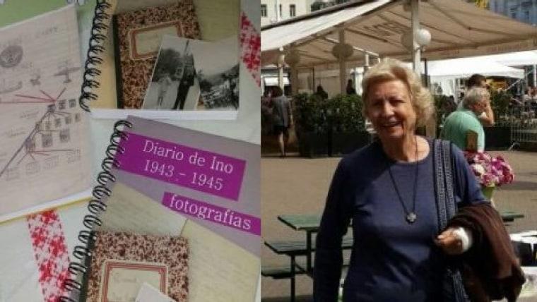 Diario de Ino; Dolores (Loly) en Zagreb (Foto: M. Dolores Ugalde de Cudina)