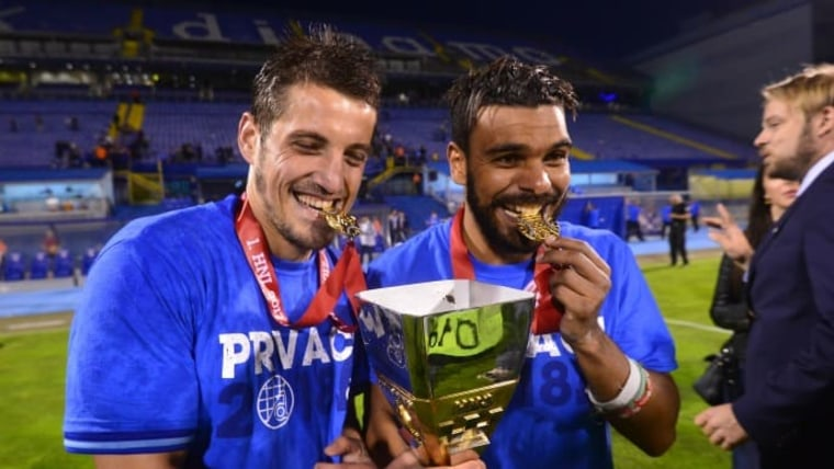 Arijan Ademi and Hilal Soudani (Photo: Marko Prpic/PIXSELL)