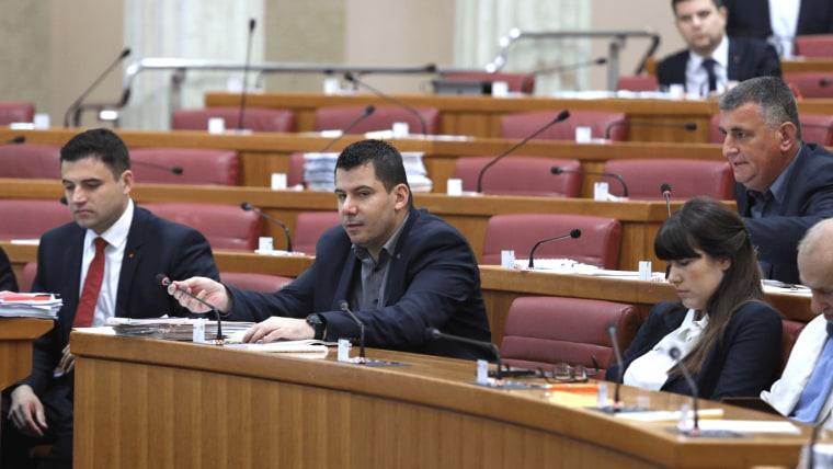 Sesión del Parlamento Croata (Foto: Patrik Macek Pixsell)