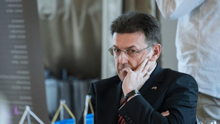 Presidente de la Cámara de Comercio Luka Burilović (Foto: Davor Puklavec Pixsell)