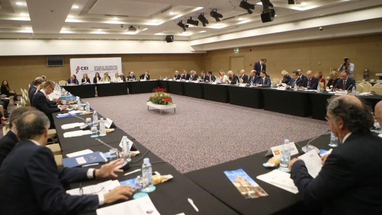 Split empfängt Außenminister der Zentraleuropäischen Initiative