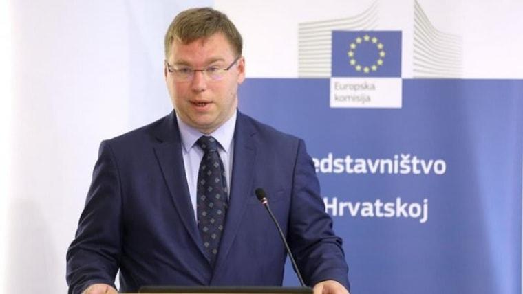 Labour Minister Marko Pavić (Photo: Patrik Macek/PIXSELL)