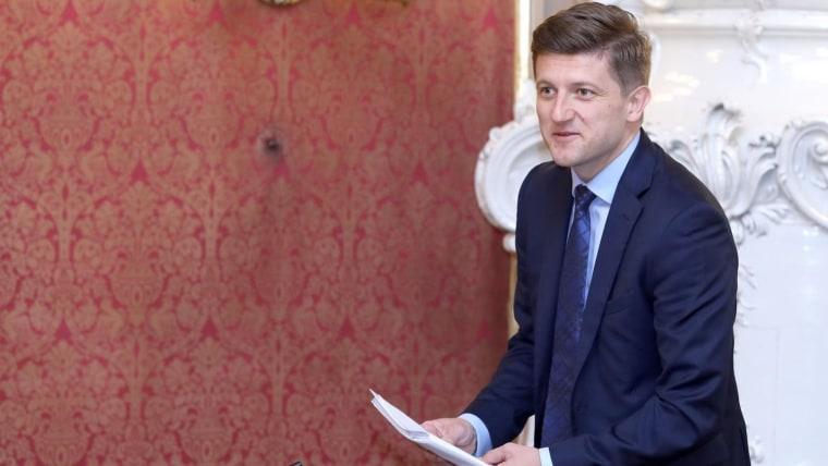 Ministro de Finanzas Zdravko Marić. (Foto: Patrik Macek/PIXSELL)