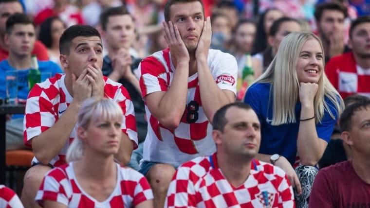 Hrvatski navijači (Foto: Davor Javorović/PIXSELL)