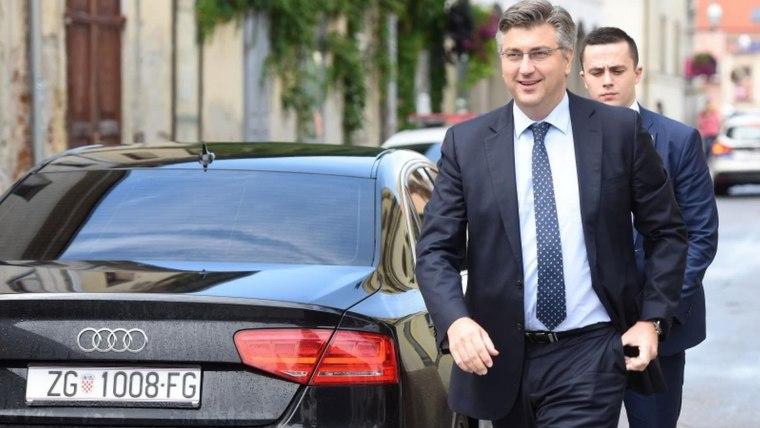 Premier Andrej Plenkovic. (Foto: Vjeran Zganec-Rogulja/PIXSELL)