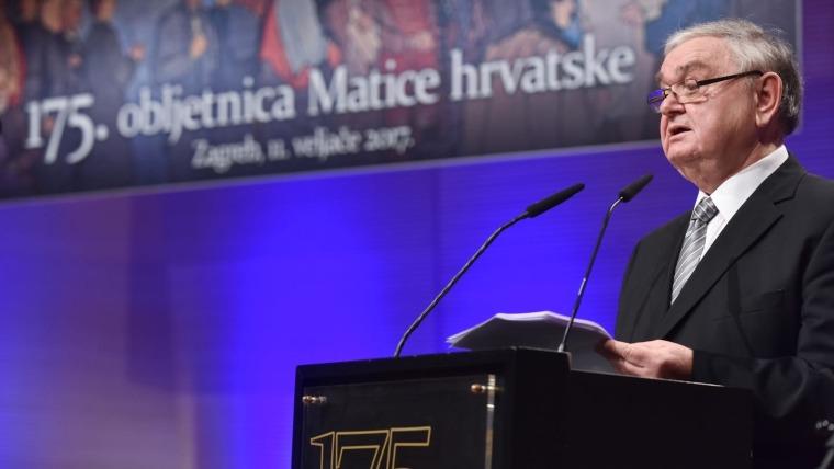 Stjepan Damjanović bio je predsjednik Matice četiri godine (Foto: Davor Višnjić/ Pixsell)