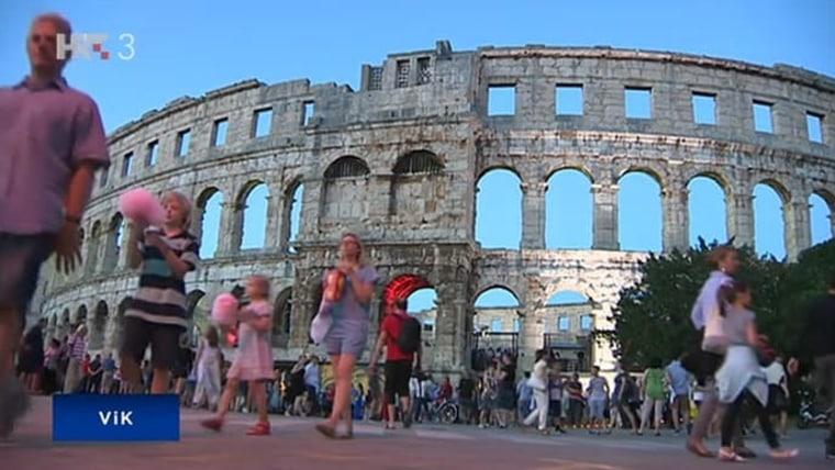 Amphitheater von Pula (Foto: HRT)
