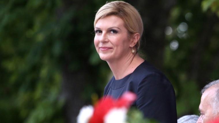 Croatian President Kolinda Grabar-Kitarović (Photo: Miranda Cikotic/PIXSELL)