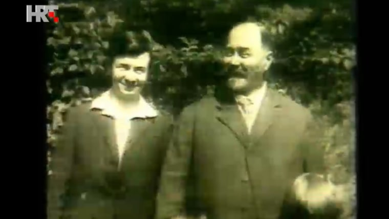 Stjepan Radić (right) (Screenshot: HRT)