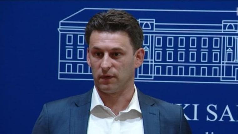 MOST Party President Božo Petrov (Photo: HRT)