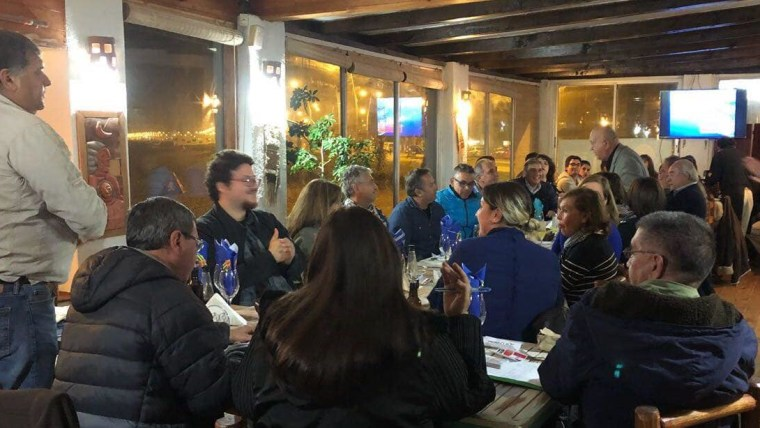Reunión constitutiva del Hrvatski Dom (Foto: Alejandro Beović Cettineo)