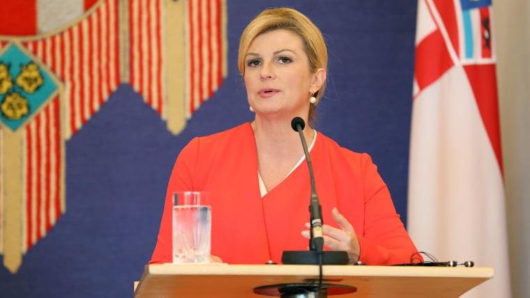 President Kolinda Grabar-Kitarović (Photo: Jurica Galoic/PIXSELL)