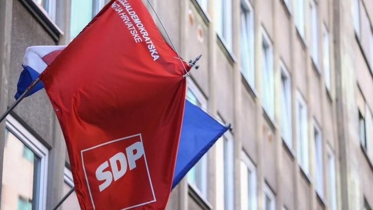 SDP headquarters in Zagreb (Photo: HRT)