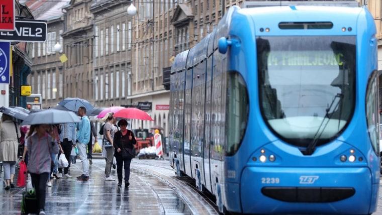 Tranvías en Zagreb (Foto: Sanjin Strukic / PIXSELL)