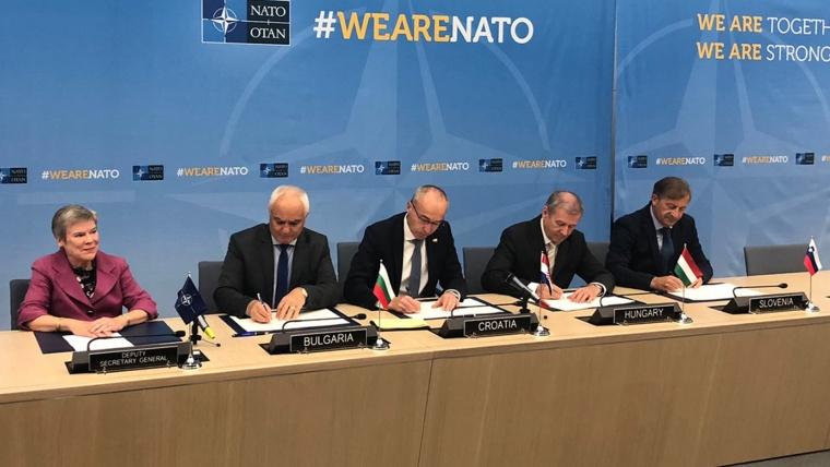 Ministros de Defensa de la OTAN (Foto: HRT)