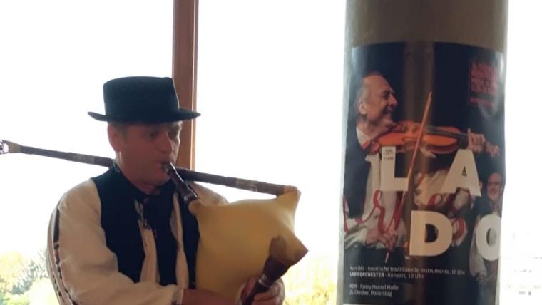Stjepan Večković iz Folklornog ansambla Lado ( Foto: Mirjana Žugec Pavičić)