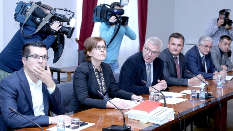 National Security Committee (Photo: Patrik Macek/PIXSELL)