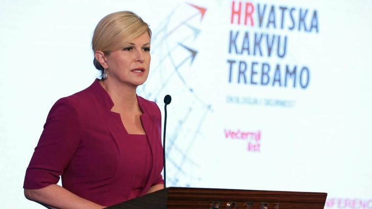 Kolinda Grabar-Kitarović (Foto: Jurica Galoic/PIXSELL)