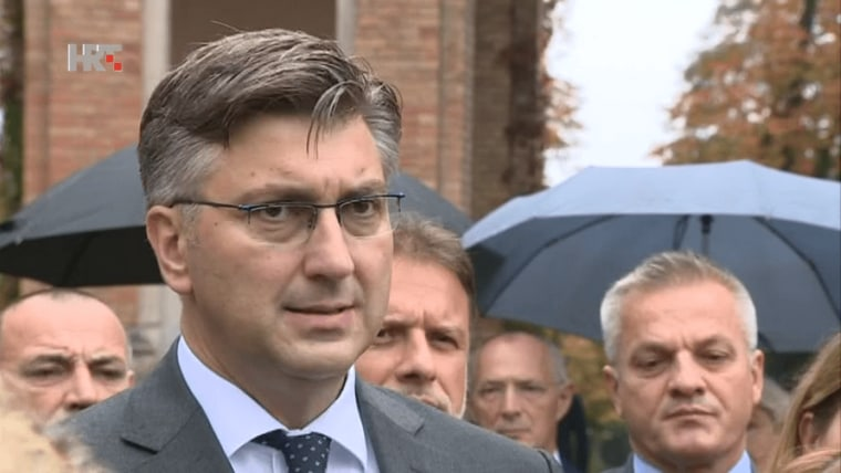 Prime Minister Andrej Plenković (Screenshot: HRT)